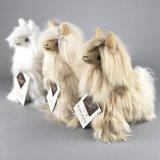 distelroos-inkari-Alpaca-zachte-knuffel-Suri-sahara-Small