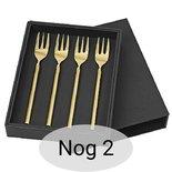Broste Copenhagen - Tvis Titanium rose gold Cake fork - Sale