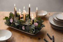 Rustik Lys - Kleine Kerzen Caramel L