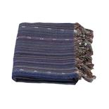 Mijn Stijl - Hamamdoek streep blauw mix