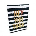 Studio Stationery - Greeting card Thnx