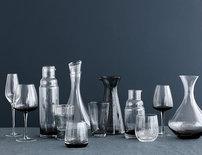 Broste Copenhagen - Bubble - Wasserglas Grau