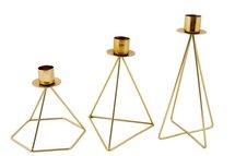 MrsBloom - Kerzenständer Jasper Antik gold