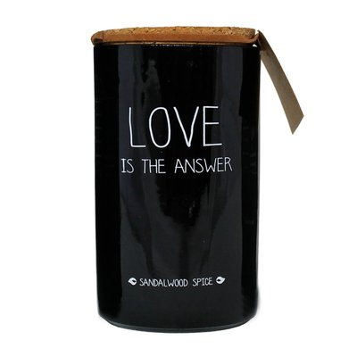 My flame - Sojakerze Love is the answer Sandelwood spice