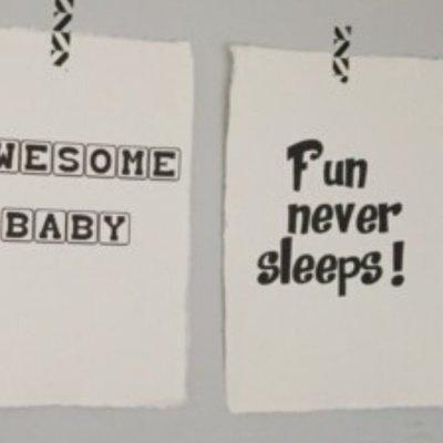 (Op) de Maalzolder - Poster Fun never sleeps