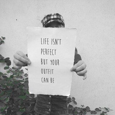 (Op) de Maalzolder - Poster Life isn't perfect