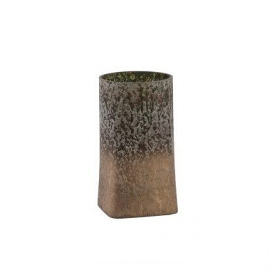 PTMD - Teelichthalter grün/Gold