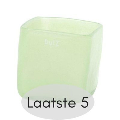 DutZ [collection] - Square vase light green