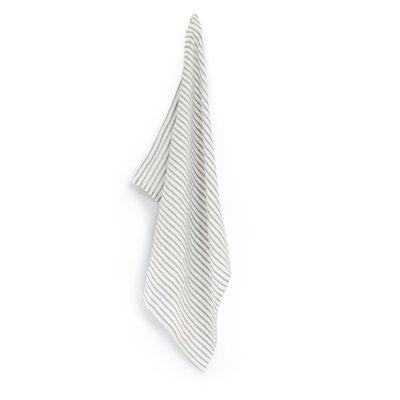 Puur lifestyle - Geschirrtuch Stripe grau/weiß
