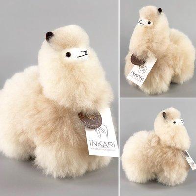 Inkari - Alpaka Stofftiere Blond S