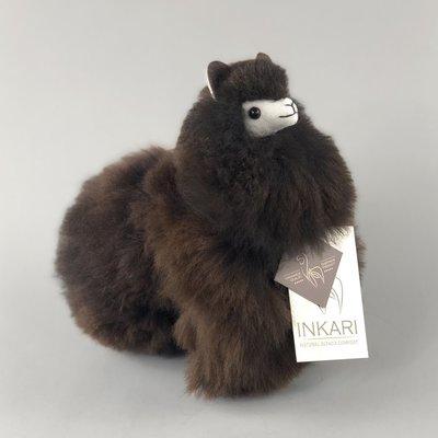 Inkari - Alpaka Stofftiere Kakao S