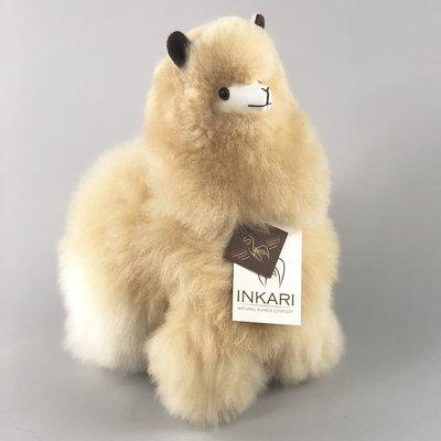 Inkari - Alpaka Stofftiere Blond M
