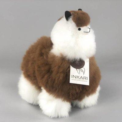 Inkari - Alpaka Stofftiere Macchiato M