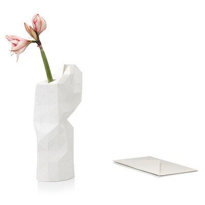Pepe Heykoop - Paper Vase Cover - White
