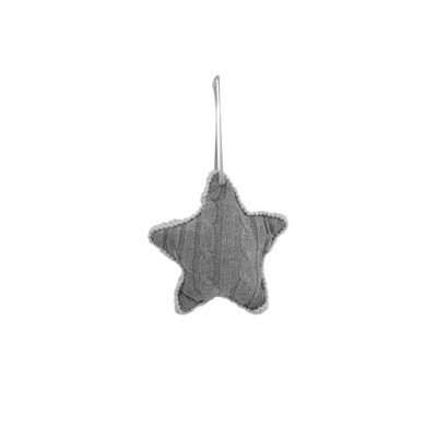 PTMD - Knitted grey wool star s