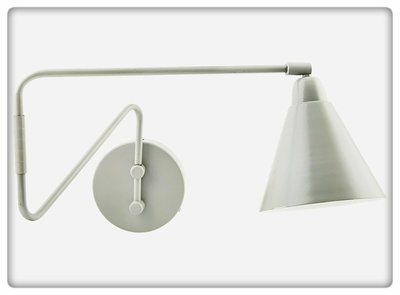 House Doctor - Wall lamp Game grey