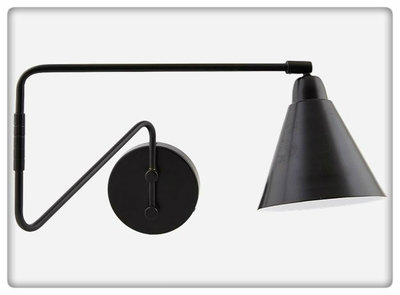 House Doctor - Wall lamp Game black