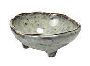 Broste Copenhagen - Bowl 'Nordic Sea' Stoneware w/3 small feet sea