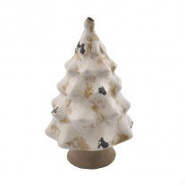 PTMD - Cement glaze white Christmas tree m