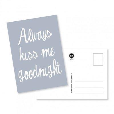 byBean - Kaart Always kiss me goodnight