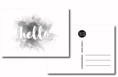 Special Airmail - Kaart Hello