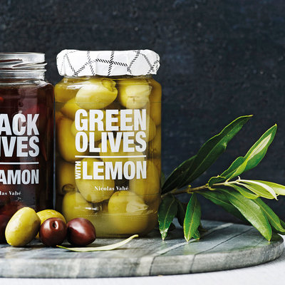 Nicolas Vahé - Green olives with lemon