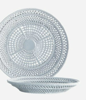 House Doctor - Bowl Net grey