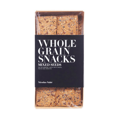 Nicolas Vahé - Wholegrain crackers with mixed seeds