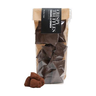 Nicolas Vahé - Chocolate truffles with caramel & crunch