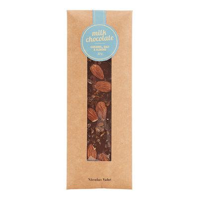 Nicolas Vahé - Milk chocolate with caramel, salt & almond