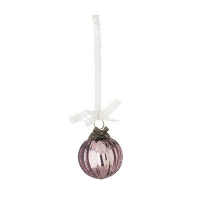 Lisbeth Dahl Copenhagen - Kerstbal antiek roze