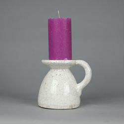 BRYNXZ - Candleholder Idylle cream white M