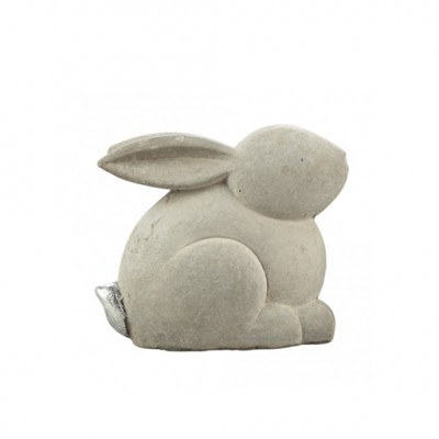 PTMD - Pasha grey Cement rabbit standing m