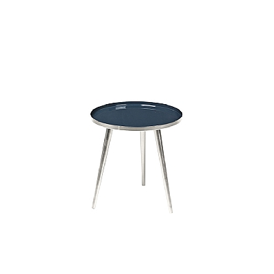 Broste Copenhagen - Table Jelva RVS Insignia blue S