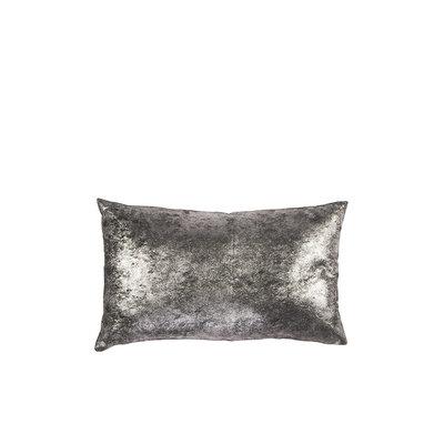 Broste Copenhagen - Kissen Leno Castlerock silver