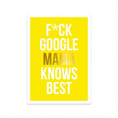 Studio Stationery - Kaart Mama knows best