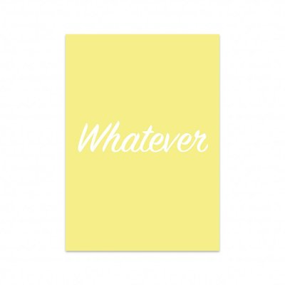 Studio Stationery - Kaart Whatever