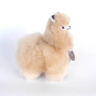 Inkari - Alpaca zachte knuffel Beige Small