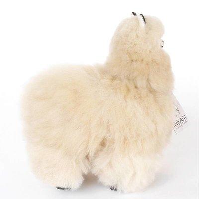 Inkari - Alpaca zachte knuffel Beige Medium