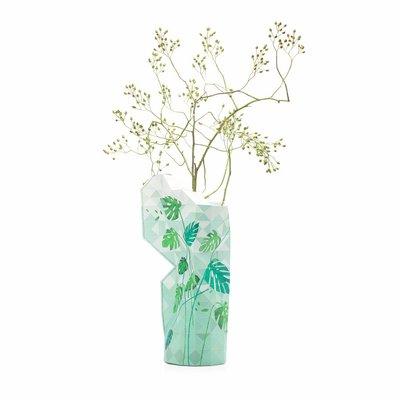 Pepe Heykoop - Paper Vase Cover Large - Jungle Leaves