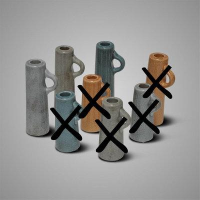 BRYNXZ - Candleholder cylinder blue
