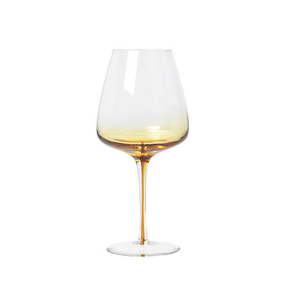 Broste Copenhagen - Amber - Rotweinglas