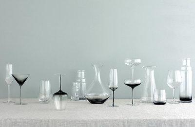 Broste Copenhagen - Bubble - Karaffe mit Deckel Medium