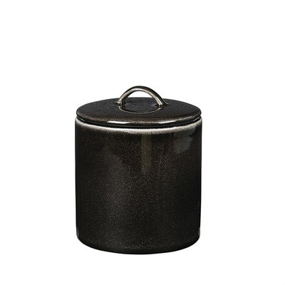 Broste Copenhagen - Nordic Coal- Topf mit Deckel Small