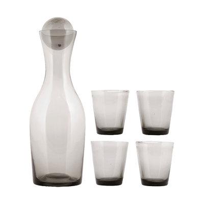 House Doctor - Houston - Geschenkbox Karaffe mit 4 Gläser