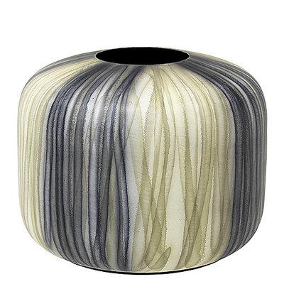 Broste Copenhagen - Vase Dea Low Metall Rock Ridge