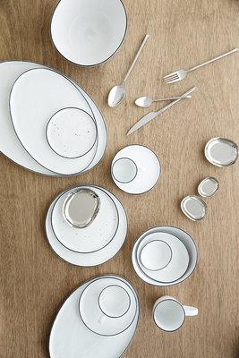 Broste Copenhagen - Salt - Basis Geschirr set Large