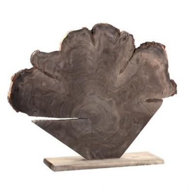 PTMD - Elvi dark grey wooden decostand L