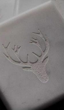 PTMD - Coasters marble deer