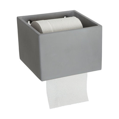 House Doctor - Cement - Toilettenpapierhalter